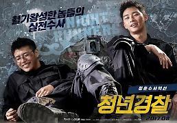 .电影《青年警察》人气高 将在海外12个国家和地区上映.