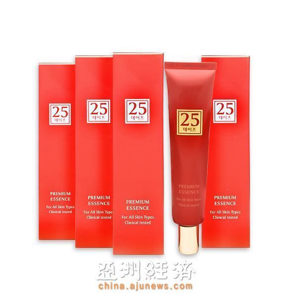 """适合痘肌的美白功能性化妆品""""25days"""""""