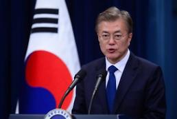 .President Moon urges N. Korea not to cross red line.