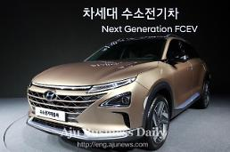 .Hyundai introduces next-generation hydrogen fuel cell SUV.