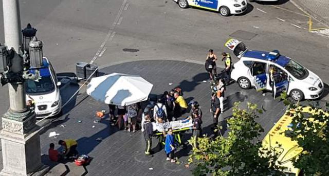 외교부 바르셀로나 차량 돌진 테러, 확인된 한국인 피해 없어
