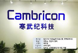 중국, 세계 최초 AI칩 유니콘기업 탄생