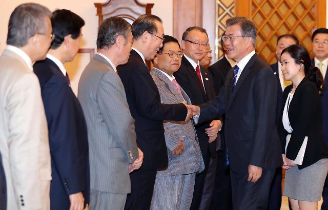 문재인 대통령, 한국인 정서적으로 한일 위안부 합의 못받아들여…