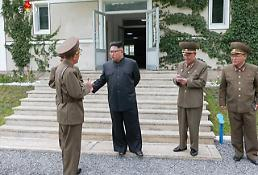 N.K. leader made secret visit to frontline guard post: Yonhap