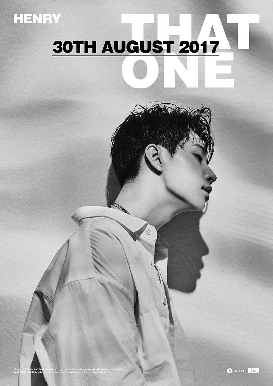 Henry将于30日发布新曲《That One》