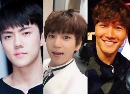 """.韩媒发布最新""""全球韩流明星榜单"""" EXO世勋黄致列金钟国居前三."""
