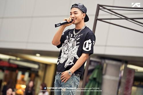 BIGBANG太阳演唱会宣传平昌冬奥