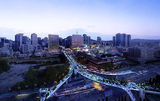 首尔路7017开放100天 吸引国内外游客361万人次