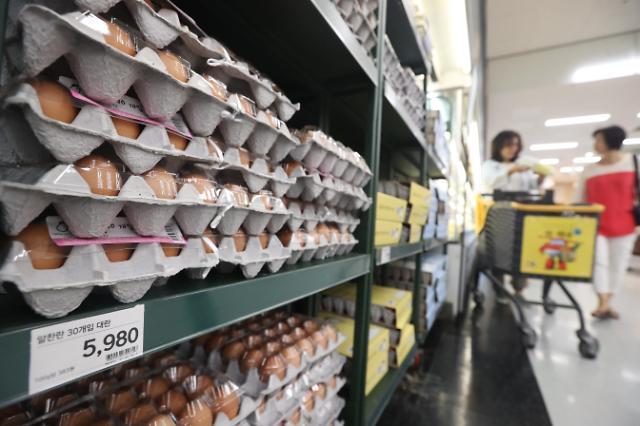 韩国三大超市下调鸡蛋零售价