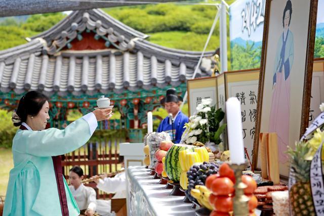 义岩朱论介诞辰424周年纪念仪式举行