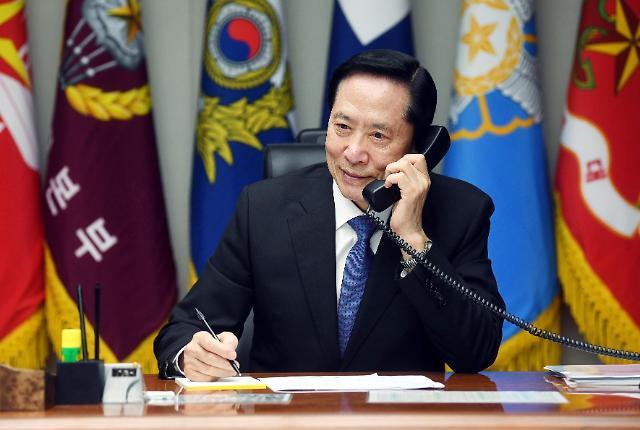 韩防长今日启程访美 韩美防长会谈明日举行