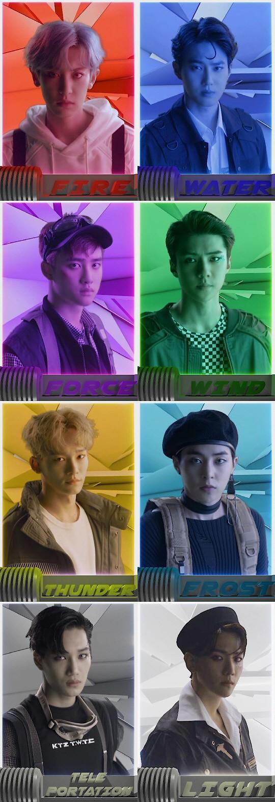 EXO重装版四辑9月5日发售 主打曲定为《Power》