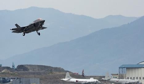 美2架F-35B隐形战机飞抵半岛应对朝鲜挑衅