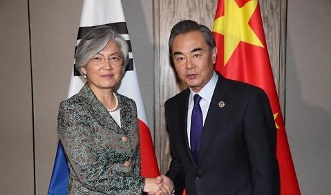 韩中外长通话讨论朝核试应对方案