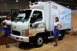 현대차, 수출 전략형 중소형 트럭 HD36L 세계 최초 공개