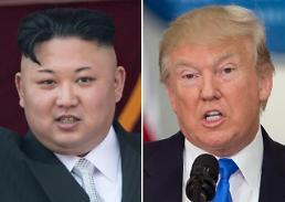""".特朗普:军事打击朝鲜并非""""必然选项""""."""