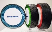 日 도요타이어, 공기 필요 없는 타이어 개발