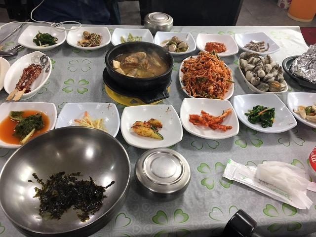 [AJU VIDEO] 数数韩国一份海鲜套餐需要多少个碗