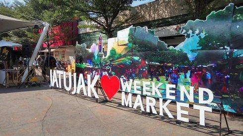 [AJU VIDEO] 世界上最大的周末市场:曼谷乍都乍周末市场