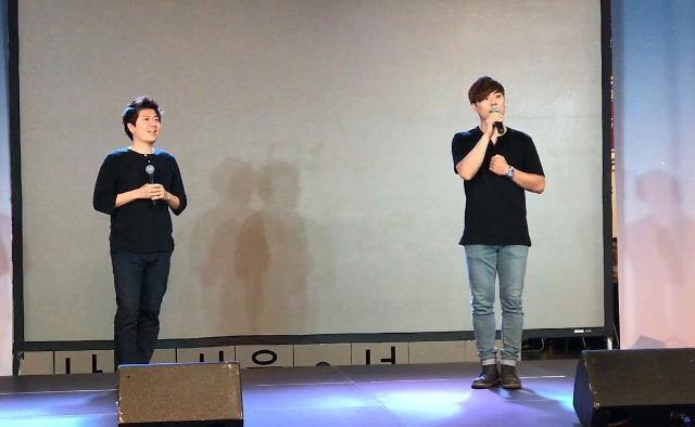 [AJU VIDEO] 男子双重唱 歌唱实力杠杠的!