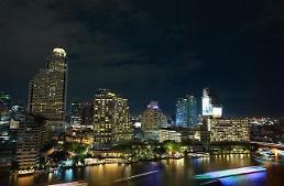 .[AJU VIDEO] 泛舟湄南河看曼谷夜景.