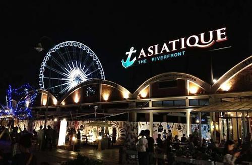[AJU VIDEO] 曼谷Asiatique河畔夜市 感受摩天轮的浪漫