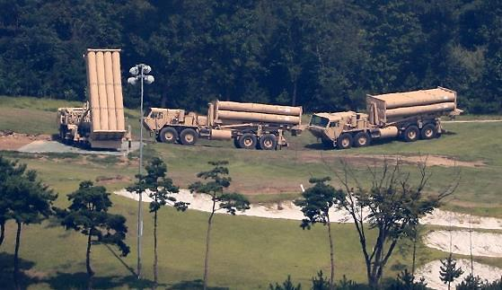 驻韩美军萨德发射车临时部署接近尾声