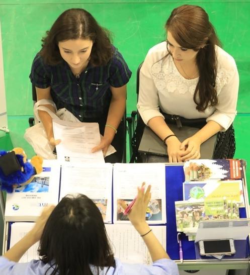 2017外国留学生招聘博览会首尔开幕 129家韩企抢人才