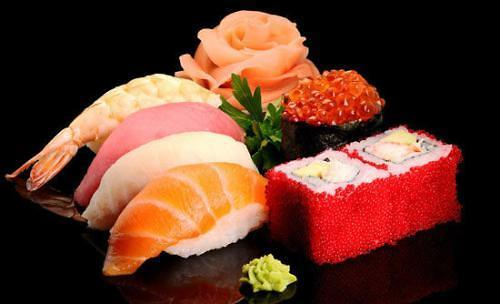 [AJU PHOTO] 日本回转寿司各种新鲜,各种美味,还不贵♡