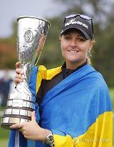 [에비앙 챔피언십] 한국 女 골프, 메이저 시즌 4승 실패…노르드크비스트 우승