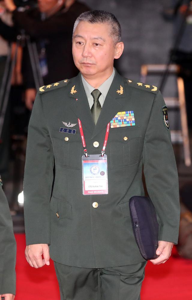 韩中时隔14个月重启军事交流 解放军陆军高层访韩参会