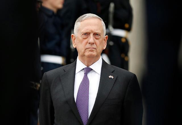 美防长:有军事选项应对朝鲜,确保首尔安全