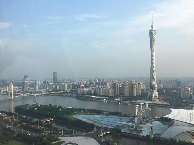 [AJU VIDEO] 小蛮腰广州塔顶楼