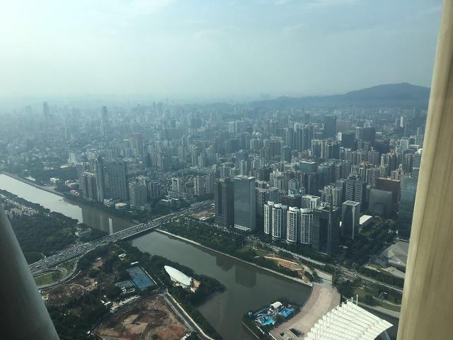 [AJU VIDEO] 高空俯视广州