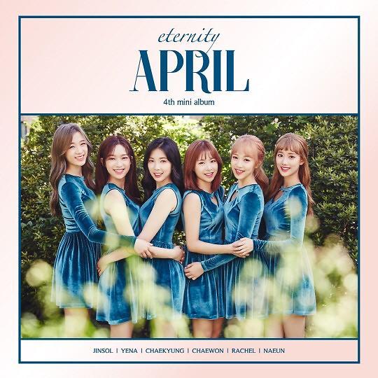 April新辑《eternity》今日发布 Showcase演唱主打歌曲
