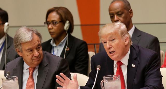 청와대, 트럼프 北완전파괴 발언에 美 최대한 제재·압박 재확인