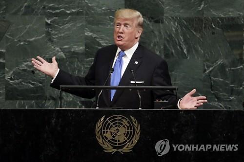 '美 대통령답지 못해' 중국, 트럼프 '북한 완전파괴' 발언 우려