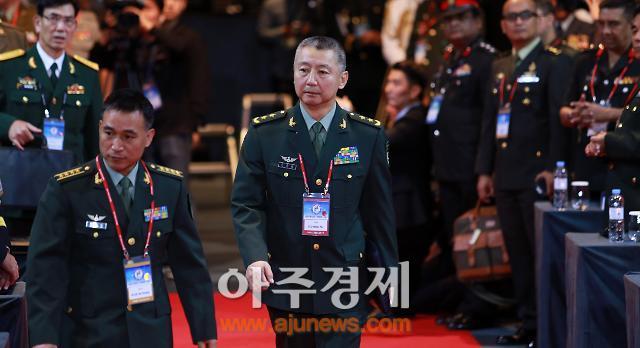 韓·中 육군 대표 사드 배치 이후 첫 대면