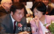 [AJU PHOTO] 김명준 임명동의안 앞두고 심각한 대화 나누는 이낙연-추미애