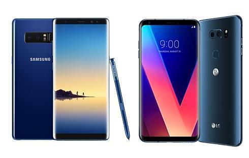 LG V30在韩开售叫板三星Note8