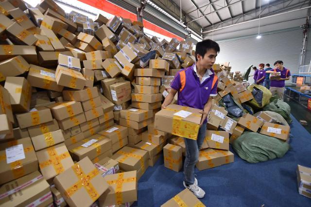 중국 IT강국 이면에 고달픈 택배기사들의 삶
