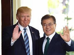 .韩美首脑明日举行会谈 或加大对朝施压.