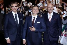 Angry fans point fingers at actors for ruined premiere event for Kingsman sequel