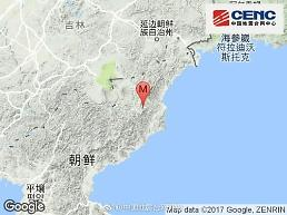 .朝鲜东北部发生3.4级地震 韩气象厅:系自然地震.