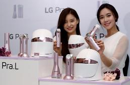 .LG Electronics jumps into home beauty market.