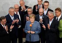 메르켈 총리 4연임 성공, 극우정당 부상으로 빛바래…국제무대에선 서구 대표 지도자 부상