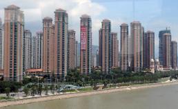 중국증시 간판 부동산기업 주가 와르르