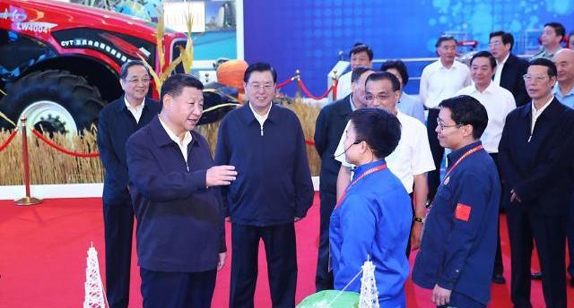 중국 19차 당대회 앞두고...시진핑 중국의 꿈 위해 계속 분투하라