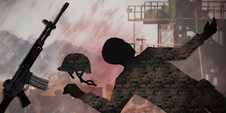 江原道陆军某部一名士兵中枪身亡