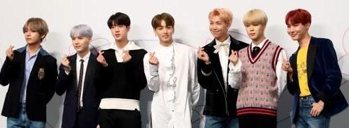 BTS为新辑新曲双双登公告牌公开发感言